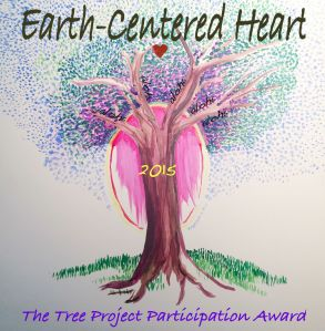 Earth Centered Heart Tree Project Participation Badge